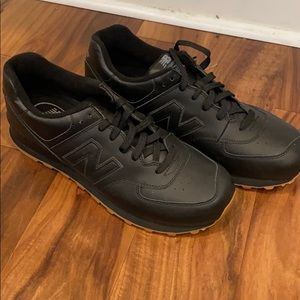 Men's black new balance